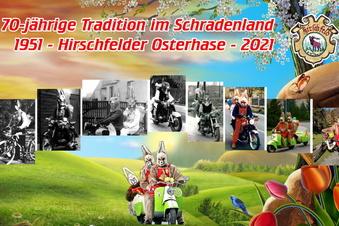 Der Hirschfelder Osterhase wird 70!