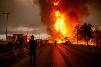 Gnadenlose Feuer in Südeuropa und der Türkei