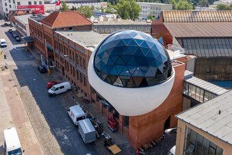 Leipzigs Niemeyer-Café ist fertig