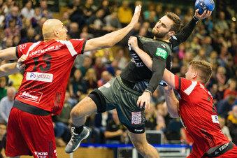 Die Dresdner Handballer gewinnen erneut