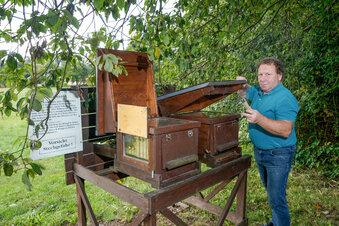 Aushilfe am Rammenauer Bienenstock