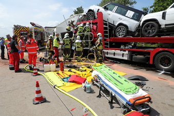 A4: Harte Einsätze für Wilsdruffs Feuerwehr