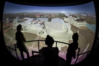 Hightech-Ausstellung macht den Zwinger erlebbar