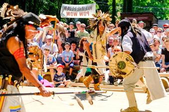 Keine Indianertänze mehr im Lößnitzgrund?