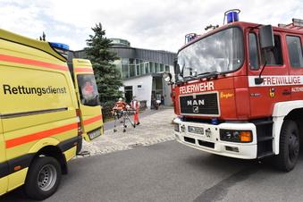 Feuerwehr-Einsatz im Raupennest Altenberg