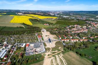 Wie die Südumfahrung in Pirna wächst