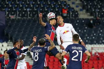 RB Leipzig verliert mit 0:1 in Paris