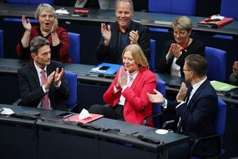So lief der erste Tag im neuen Bundestag