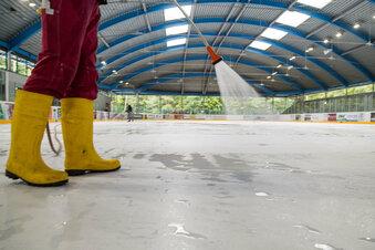 Die Eiszeit beginnt im Eisstadion