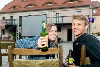 Königstein: Auf dem Stadtplatz flimmert es