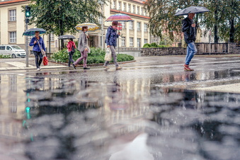 Bautzen: So viel Regen gab es dieses Jahr schon