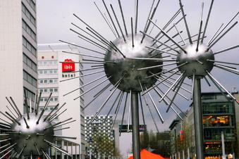 Corona in Dresden: Licht aus, Brunnen aus?