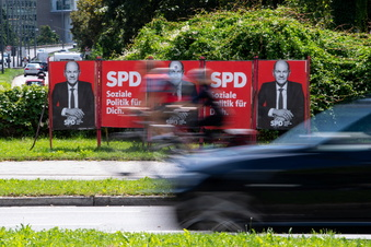 SPD holt weiter auf - nur noch zwei Punkte hinter der Union