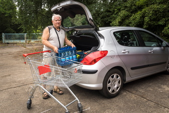 Wenn dem Supermarkt der Parkplatz fehlt