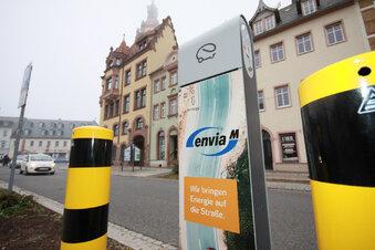 Erste Ladestation für E-Autos in Waldheim