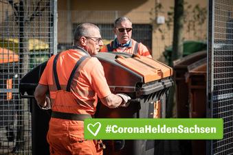 Warum auch Müllmänner jetzt Corona-Helden sind