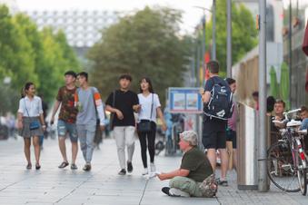 Dresdner beschweren sich über Bettler