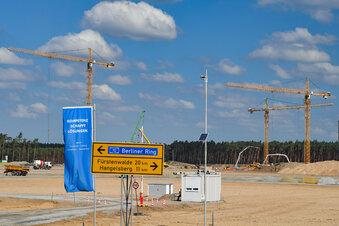 Tesla darf Fabrik bei Berlin vorzeitig bauen