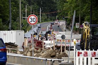 Straßenbahn fährt erst Anfang 2022 wieder nach Bühlau