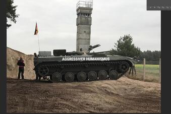 Warum kein Panzer vor den Landtag darf