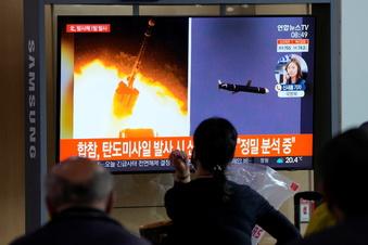 Nordkorea feuert weitere Rakete ab