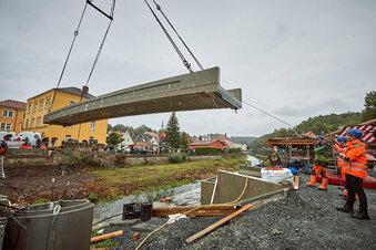 Der Brückenbau zu Dohna