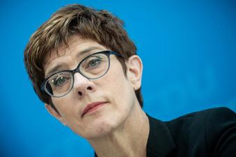 CDU-Chefin gegen Koalition mit AfD