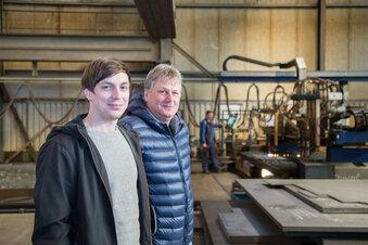 Neuer Stahlbau in Niesky legt richtig los