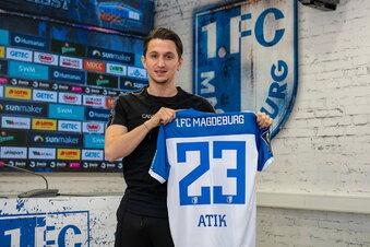 Ex-Dynamo Atik jetzt in Magdeburg