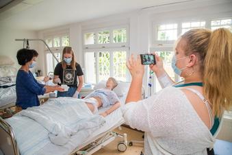 Wie Nieskyer Pflegeschüler auf Instagram kommen