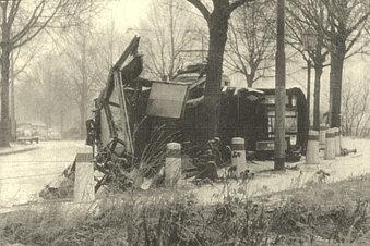 Dresdens schwerster Straßenbahnunfall