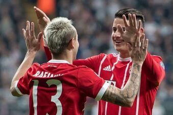 Losglück für die Bayern