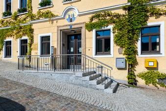 Stolpen: Rathaus öffnet barrierefrei
