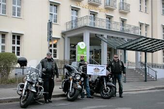 Corona: Dresdner Biker spenden Partygeld