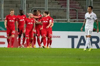 RB bezwingt Augsburg ohne Probleme