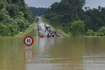 36.000 Menschen in Malaysia auf der Flucht