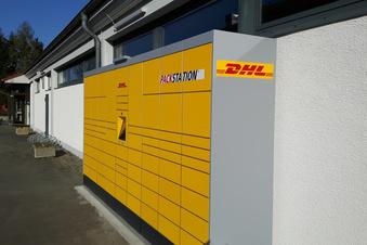 Die erste DHL-Packstation in Lauta