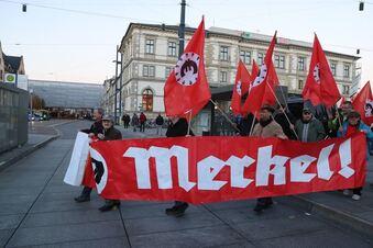 Anti-Merkel-Demo in Chemnitz