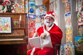Ein Hausbesuch beim Weihnachtsmann