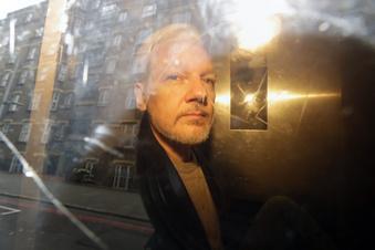 So schlecht geht es Assange