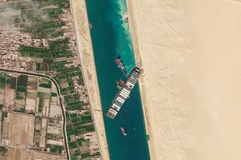 """Ever Given"" darf Suezkanal nicht verlassen"