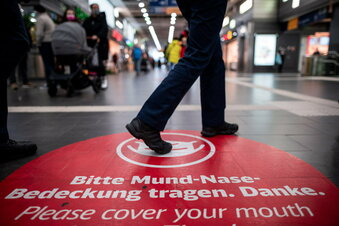 Corona-Regeln: Einkaufen in Dresden ja, spazieren nein