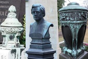 Kunstdiebstahl auf Dresdner Friedhof