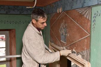 Neuer Fußboden für alte Lederkammer
