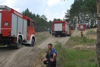 Kottmar-Kameraden üben mit der Bundeswehr