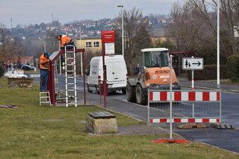 Zauckerode: Drei Probleme, drei Baustellen