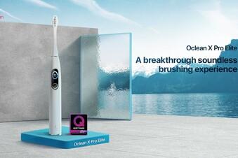 Diese elektrische Zahnbürste kann flüstern