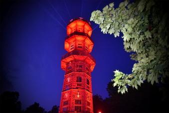 Löbaus Turm ist wieder Besuchermagnet