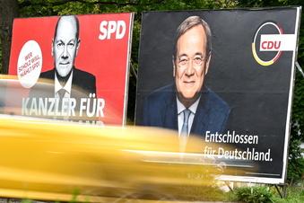Union holt in weiterer Umfrage gegenüber SPD auf