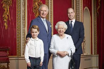 Die Queen und ihre drei Prinzen